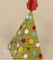 christmas tree party favor box