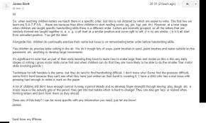 primary letter writing paper jemma page 3 ialfi 7th february emailing a primary school teacher