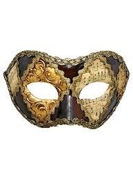 venetian masks colombina scacchi oro cuoio musica venetian mask maskworld