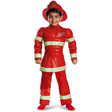 Red Witch Halloween Costume Red Fireman Toddler Muscle Halloween Costume Disguise Walmart