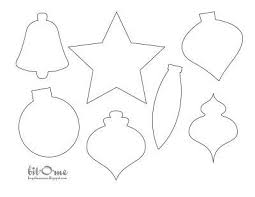 small tree ornament template template business