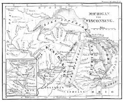 Printable Map Of Wisconsin by Images From An Immigration Advice Book 1840 Max Kade Institute