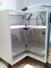 meuble pour evier cuisine meuble cuisine angle galerie et meuble sous evier angle collection