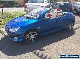 blue peugeot for sale peugeot 206 for sale in australia