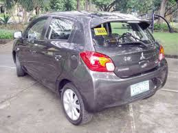 mitsubishi grey the mirage in real time inquirer business