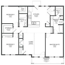 3 bed 2 bath house plans decoration simple 3 bedroom house plans