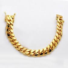 link bracelet images 14k gold thick 15mm cuban link bracelet capital bling jpg