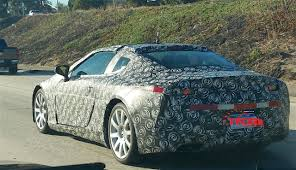 lexus lc luxury coupe first spy photos of 2017 lexus lc 500 with michigan plates spied