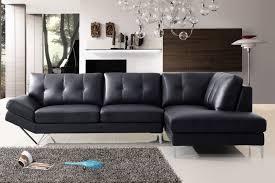 canapé d angle noir cuir canape d angle lugano cuir reconstitue noir droit canapé topkoo