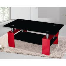 red and black coffee table metro black glass coffee table in red high gloss legs brendas