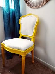 Home Goods Upholstered Chairs Dining Room Sorrel Tufted Upholstered Chair Yellow Bright Design