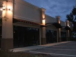 commercial building outside lighting services
