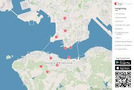 printable maps hong kong hong kong printable tourist map sygic travel