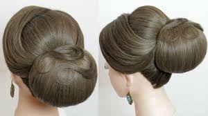 Easy Down Hairstyles For Medium Hair by Indian Bridal Hairstyle Classic Updo For Medium To Long Hair
