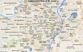 Judgmental Austin Map by Judgemental Map Of St Louis My Blog