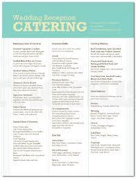 Sample Buffet Menus by Wedding Buffet Menu Examples For Weddings