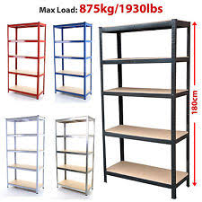Heavy Duty Garage Shelving by Metal Garage Shelving Ebay