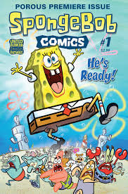 cartoon snap spongebob comics 1 cover art