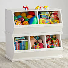 Bookshelf And Toy Box Combo Storagepalooza Kids Stacking Toy Storage The Land Of Nod