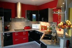 cuisine moderne et noir awesome cuisine et noir gallery design trends 2017 regarding