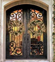 Steel Exterior Doors With Glass Doors Mediterranean Iron Entry Steel Doors Made And Flower