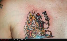 popeye the sailor and colored chest tattoos