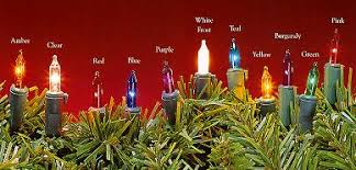 c9 christmas lights qvc christmas lights and prelit artificial christmas trees
