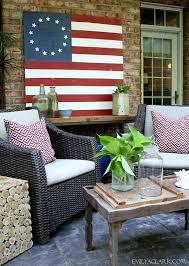 diy painted american flag emily a clark