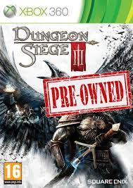 dungeon siege 3 xbox 360 dungeon siege iii used xbox 360