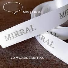 custom ribbon printing aliexpress buy free shipping high quality 1cm custom satin