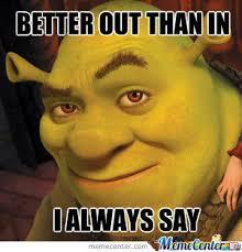 Shrek Memes - creepy shrek is creepy by recyclebin meme center