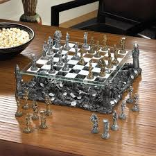 Glass Chess Boards Battleground Chess Set Walmart Com