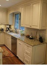 brown granite countertops with white cabinets incredible white cabinets subway tile beige granite countertops