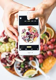 check out the colors and patterns of these pre instagram food art