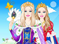 barbie island princess painting games girls