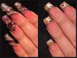 diseñosdeñaspostizas ñasacrilicas cambiodediseñ acrylicgoldnails