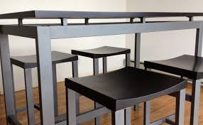High Bistro Table High Bistro Table Table And Bench Set Cheap High Top Dining Table