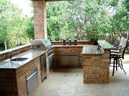 cheap outdoor kitchen ideas patio kitchen ideas backyard patio design with grill prefab