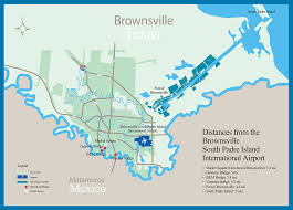 Iah Terminal Map Area Map Brownsville South Padre Island Airport Tx