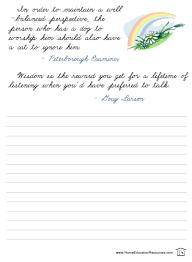 free printable cursive handwriting worksheets packet on usa big