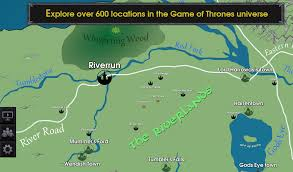 Got Map Track Your Favorite Got Character On The Map Of Westeros