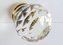pomelli per porte pomello in cristallo per mobile 24em 0530 metal style