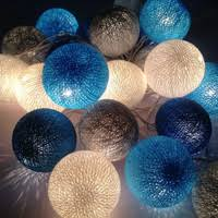best cotton ball fairy string lights products on wanelo