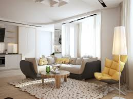furniture cool round coffee table designs for living room yellow