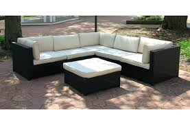 outdoor furniture sectional sofa white and red furniture outdoor