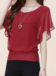 chiffon blouses for chiffon tops cheap price