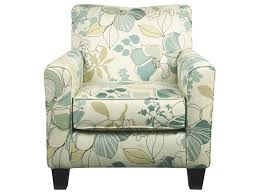 Aqua Accent Chair by Signature Design By Ashley Daystar Seafoam Contemporary Accent