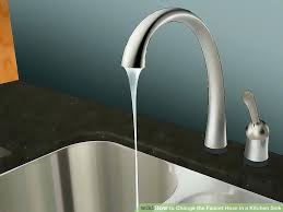 3 kitchen faucet faucet supply extension image titled change the faucet hose in a