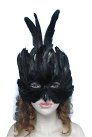 masquerade masks with feathers feather masquerade mask seasons usa inc