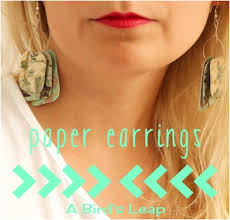 paper ear rings top 10 adorable diy paper earrings top inspired
